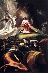 El Greco - The Agony in the Garden