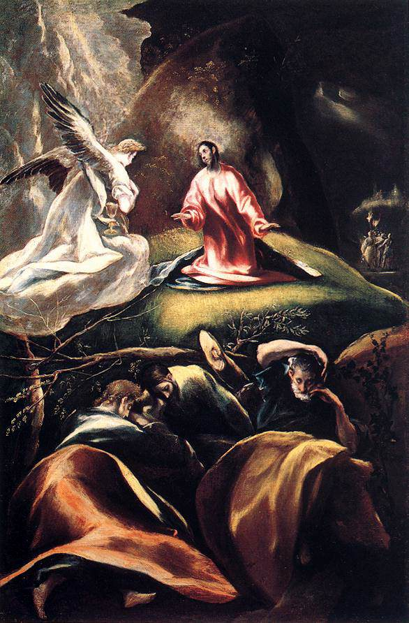 The Agony in the Garden c1608  El Greco  WikiArtorg